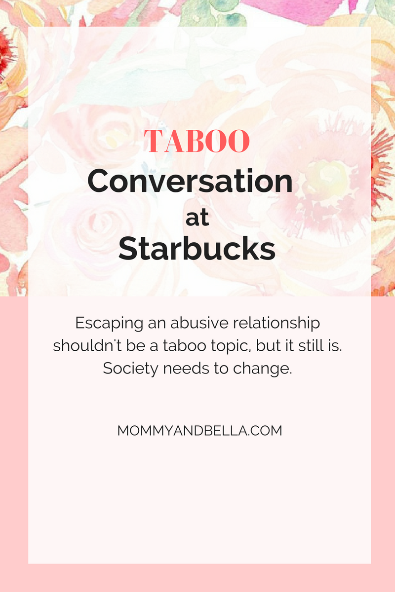 Taboo Conversation at Starbucks - Domestic Abuse - Hero