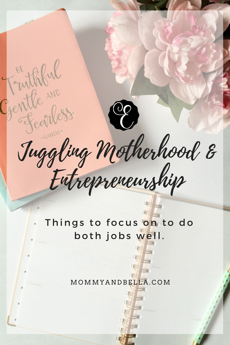 Juggling Motherhood and Entrrepreneurship