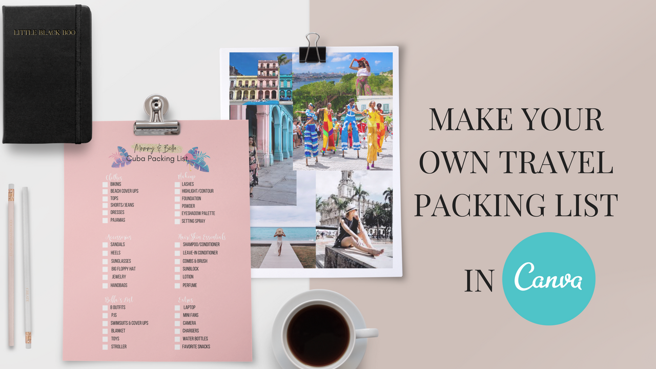 create your own packing list